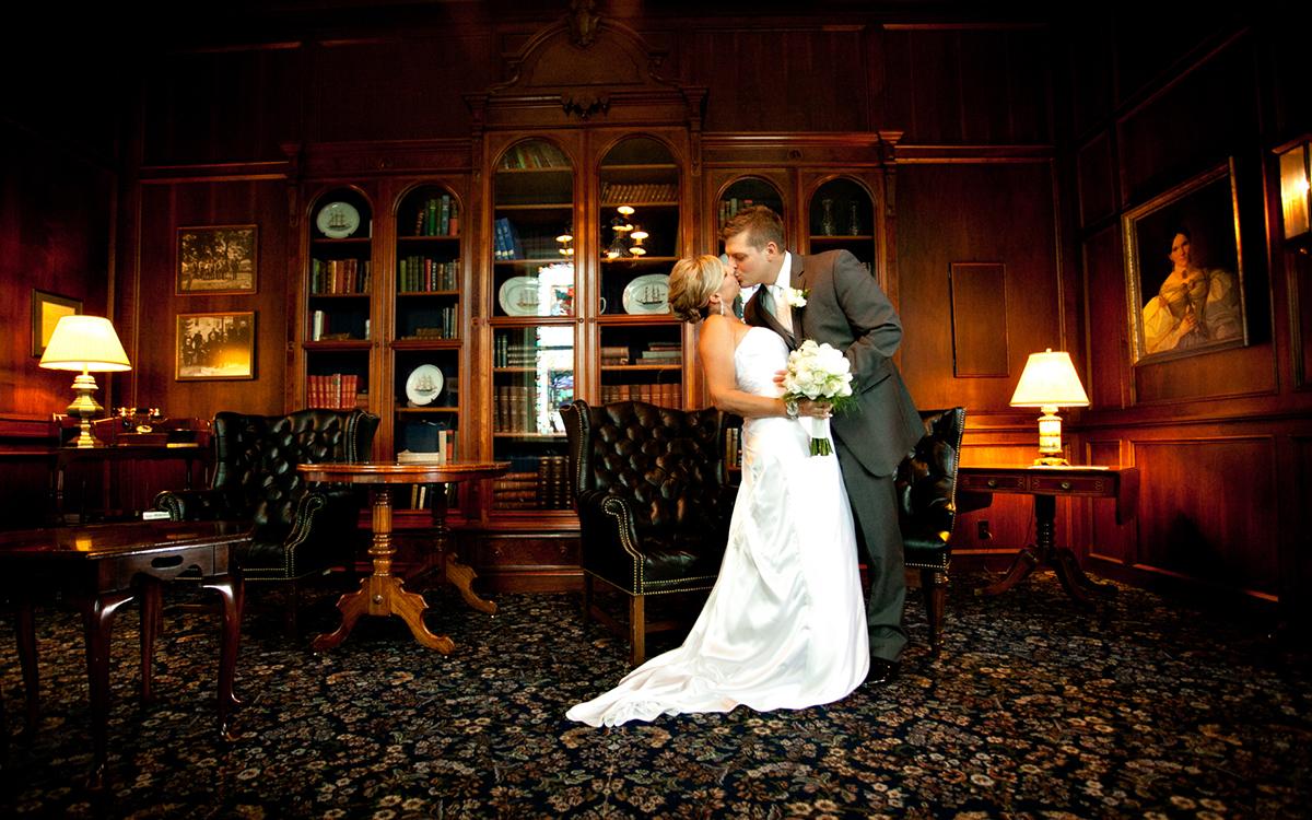 Romantic Spaces Historic Library