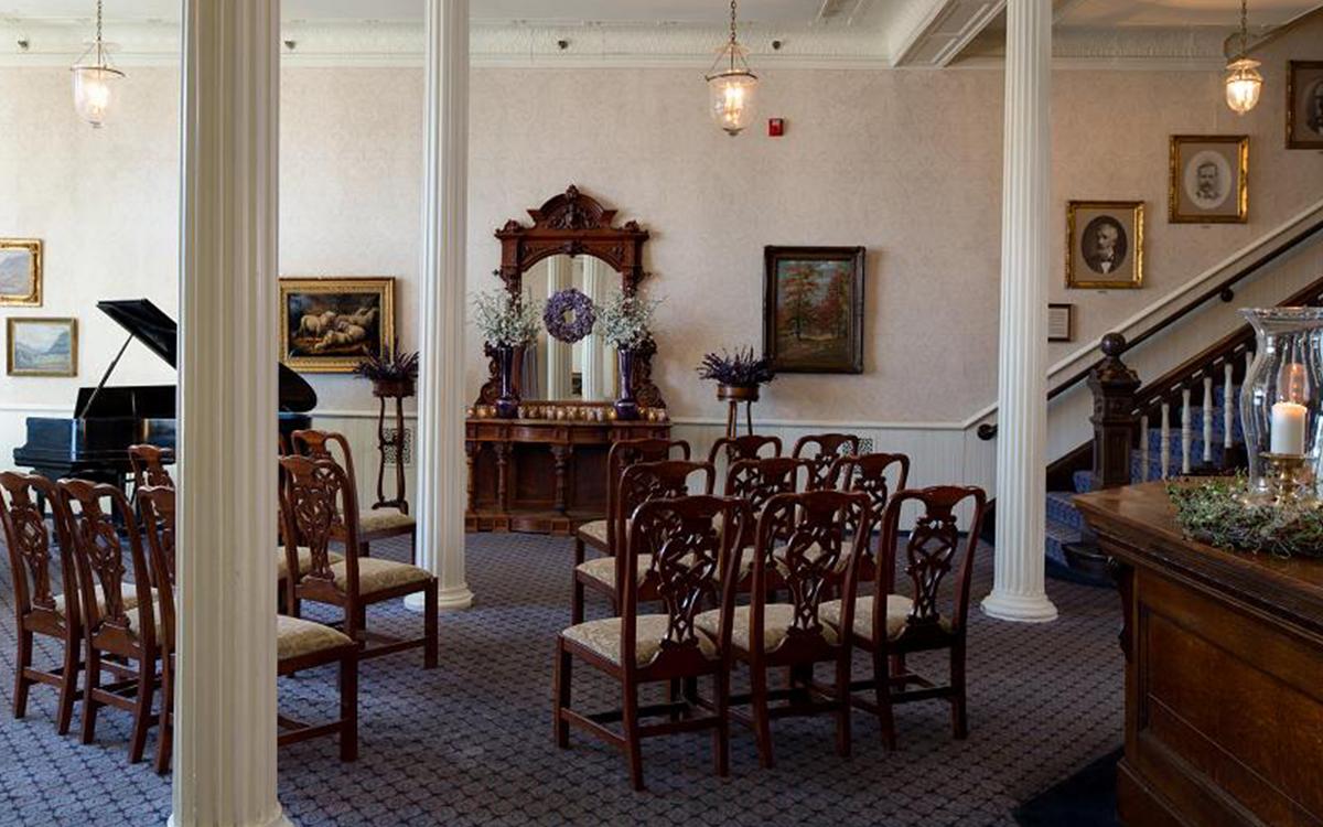 Romantic Spaces Historic Lobby