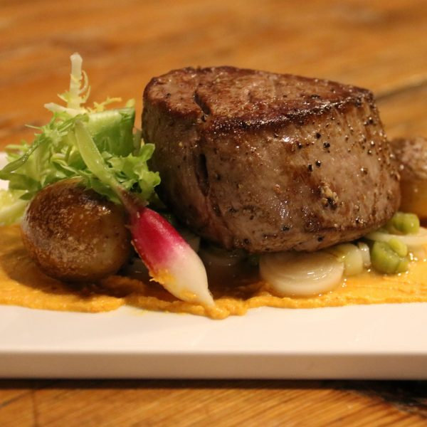 Filet Mignon at the Port at St. James